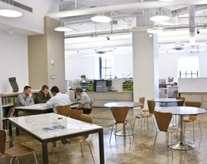 SUPERSTRUCTURES offers a bright and open office space.